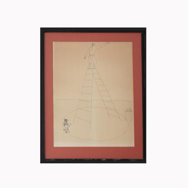 Alexander Calder Signed Limited Edition Circus Drawings Lithograph by GoldmineUnlimited