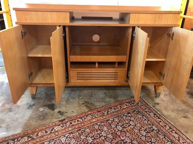 Mid Century entertainment cabinet