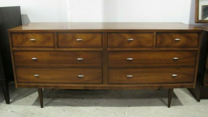 5 Pc Wicker Patio Set, Dixie Mid Century Modern 8 Drawer Walnut Long Dresser From Adverts Of Greenpoint Brooklyn Ny Attic