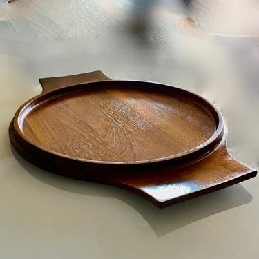 A Fine Large Vintage Mid Century Modern Signed Jens Quistgaard Teak Serving Tray Denmark by modern2120