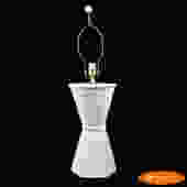 Ceramic Faux Bamboo Single Lamp