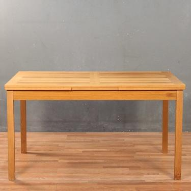 Ansager Mobler Danish Modern Dining Table With Built-In Leaves – ONLINE ONLY