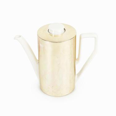 1965-1969 Van Nelle Ceramic Teapot Waku Keramik Kettle Germany Mid Century Modern by VintageInquisitor