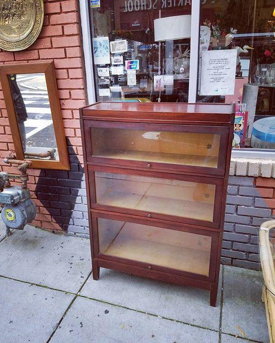 Udell Barrister Bookcase, $295.
