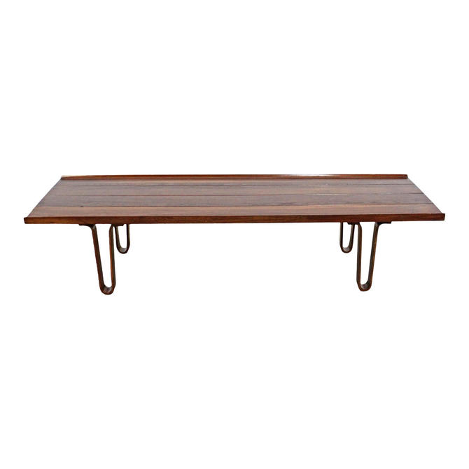 Mid-Century Modern Coffee Table by Edward Wormley for Dunbar 'Long John' Bentwood Coffee Table by AnnexMarketplace