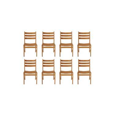 Set of 8 Danish Dining Chairs