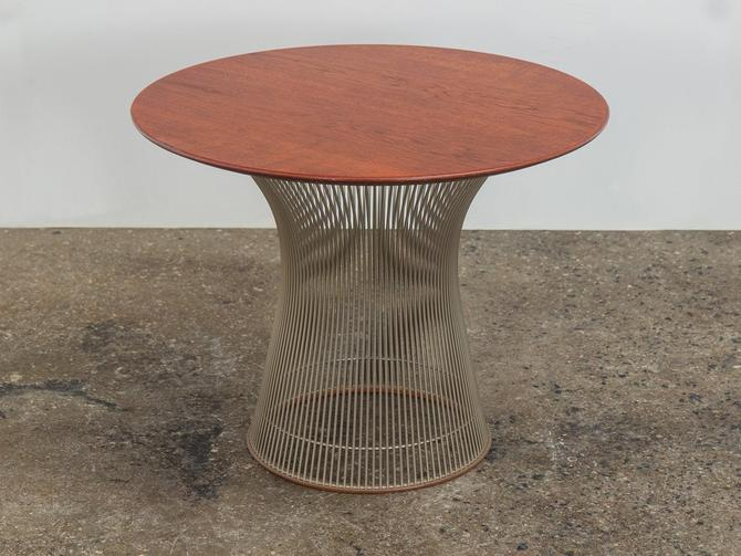 Platner Collection for Knoll Wire Side Table by openairmodern