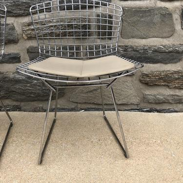 Harry Bertoia for Knoll Wire Chairs
