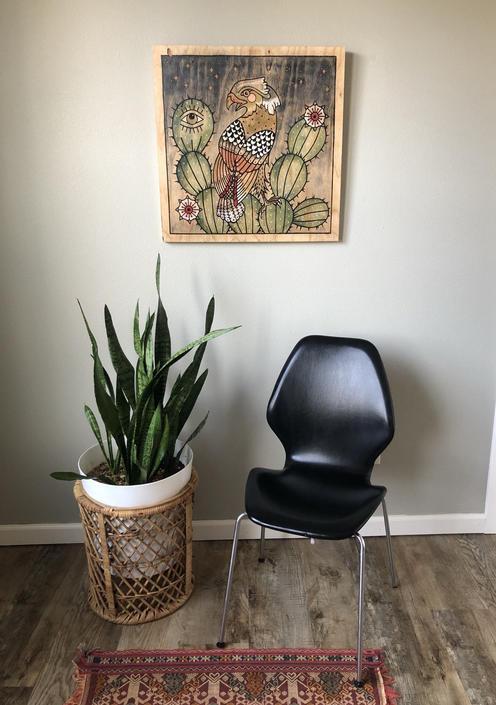 Vintage Oyvind Iversen for Westnofa Chair by DesertCactusVintage