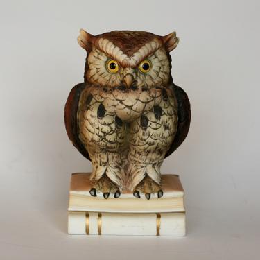 vintage owl by andrea sadek by suesuegonzalas