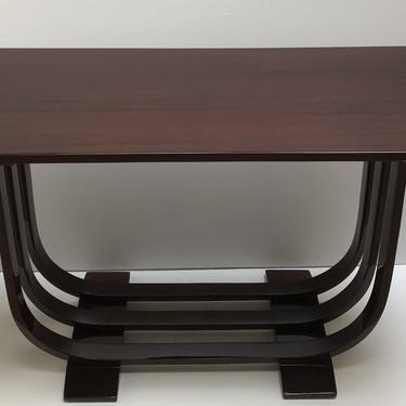Three-band Gilbert Rohde Console Table