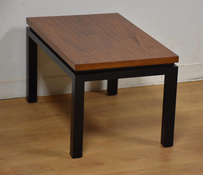 Harvey Probber Walnut End Table by mixedmodern1