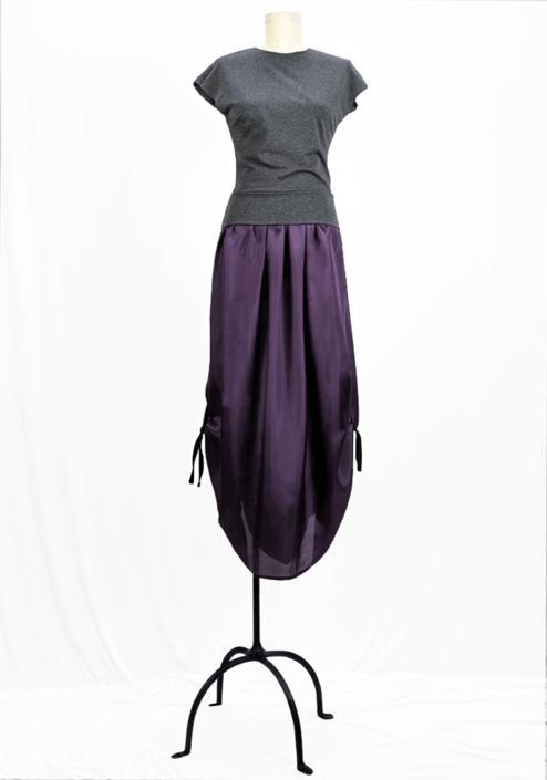 Poseidon Skirt - Raisin