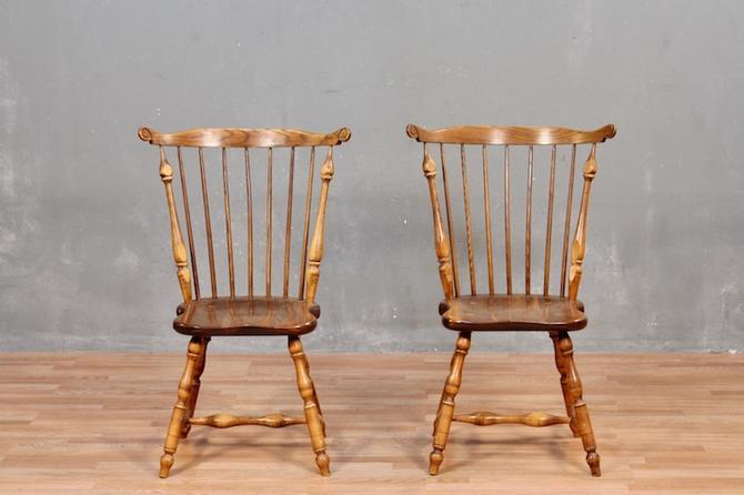 Carved Walnut Windsor Side Chair – ONLINE ONLY