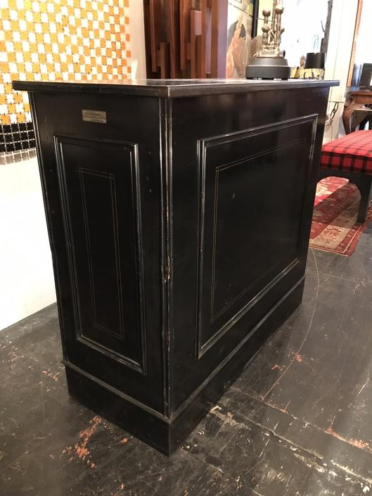 Black Bank Cabinet