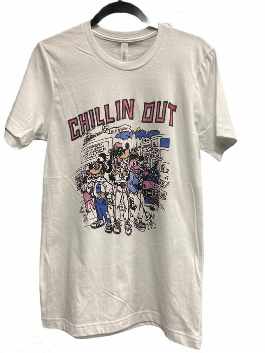 Retro DC Chillin Out Tee by InstantVintage78