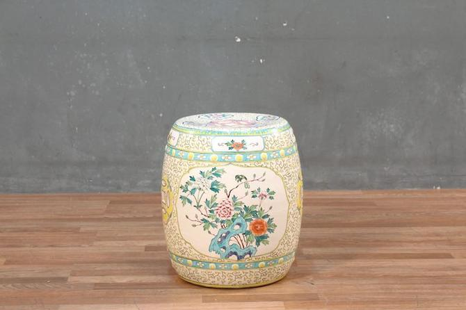 Chinese Colorful Ceramic Plant Stand – ONLINE ONLY