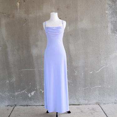 90s Formal Gown | Lavender Dress | Purple Bridesmaid Dress | Simple Dress | XSmall Dress XS | Small Dress S | Size 4 Dress | 90s Theme Party by aphroditesvintage