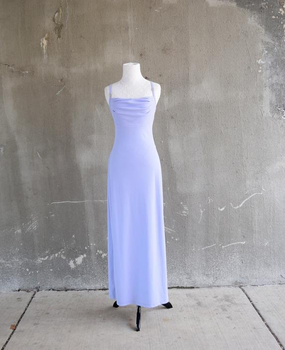 90s Formal Gown | Lavender Dress | Purple Bridesmaid Dress | Simple Dress |  XSmall Dress XS | Small Dress S | Size 4 Dress | 90s Theme Party by