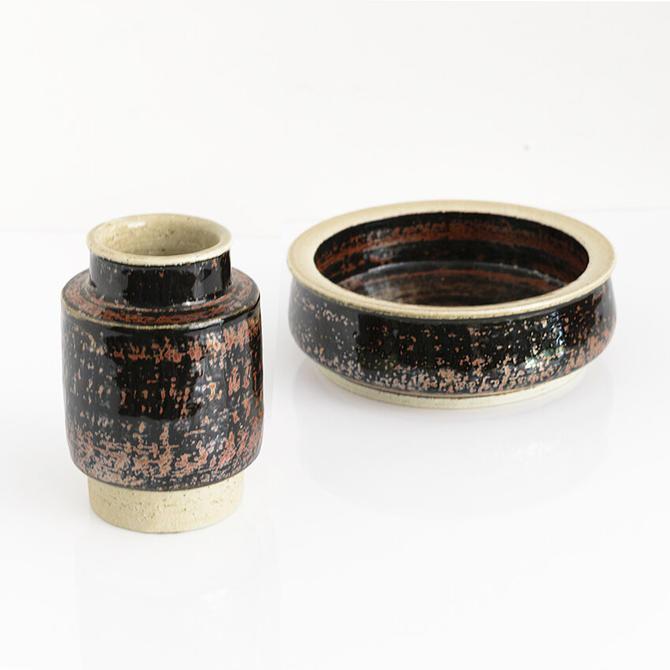 Sylvia Leuchovious Bowl & Vase for Rorstrand Studio