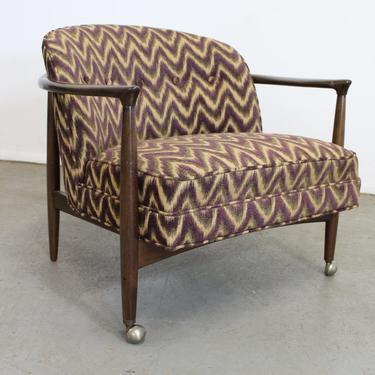 Mid-Century Danish Modern Finn Andersen Barrel Back Club Chair by AnnexMarketplace