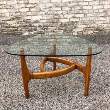 Accent Table With Sculpted Tripod Base