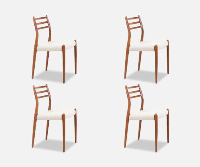 Niels Møller Model-78 Dining Chair for J.L. Møllers