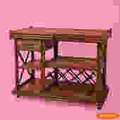 Bamboo Woven Rattan Bar Server