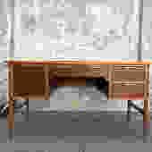 Vintage Lane 4 Drawer Desk