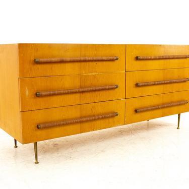 Robsjohn Gibbings For Widdicomb Mid Century 6 Drawer Lowboy Dresser - mcm by ModernHill