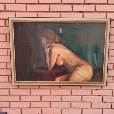 Original Nude, Oil on Canvas.