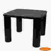 Mid Century Vintage Black Game Table