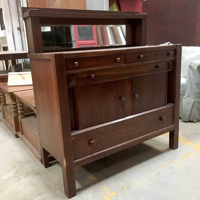 Vintage Sideboard with Mirror