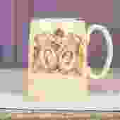 Antique King George VI and Queen Elizabeth Coronation Mug