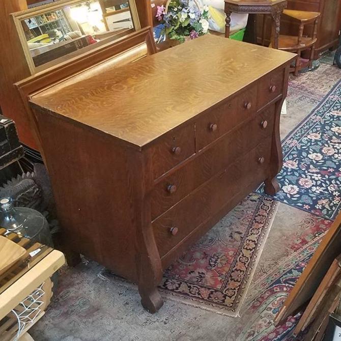"Five Drawer Early 20th Century Dresser. 45""x22""x34 high."