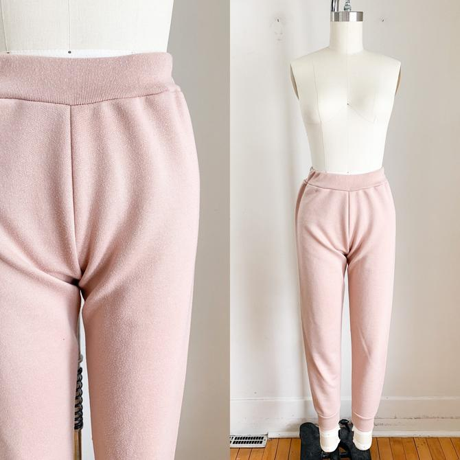 Vintage Blush Pink Jogger / XS-S by MsTips