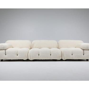 Mario Bellini Boucle Sofa by ShopInteriorTonic