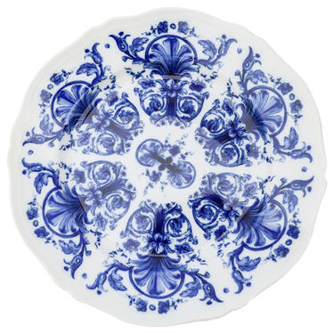 Richard Ginori Babele Blue Dinner Plate