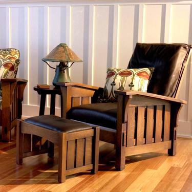 Drop Arm Morris Chair by CaledoniaStudios