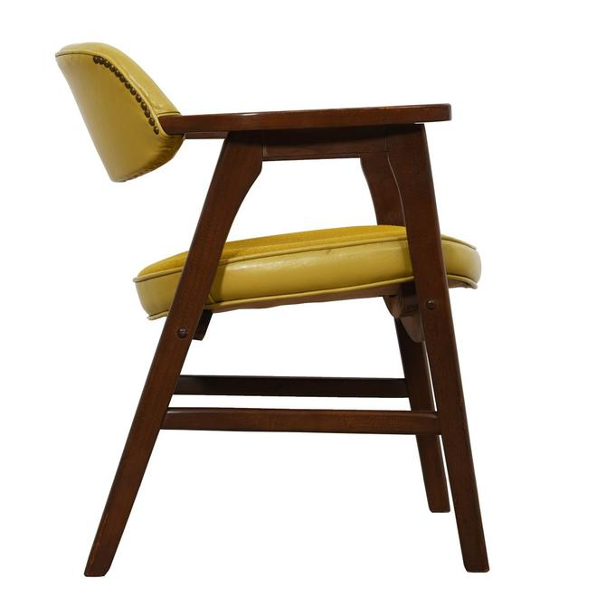 Mid Century Modern Walnut Arm Chair