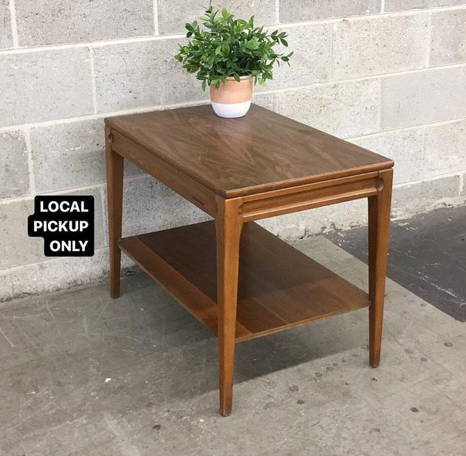 LOCAL PICKUP ONLY ———— Vintage Mersman End Table ———— 2 Units on Hand Sold Separately by RetrospectVintage215