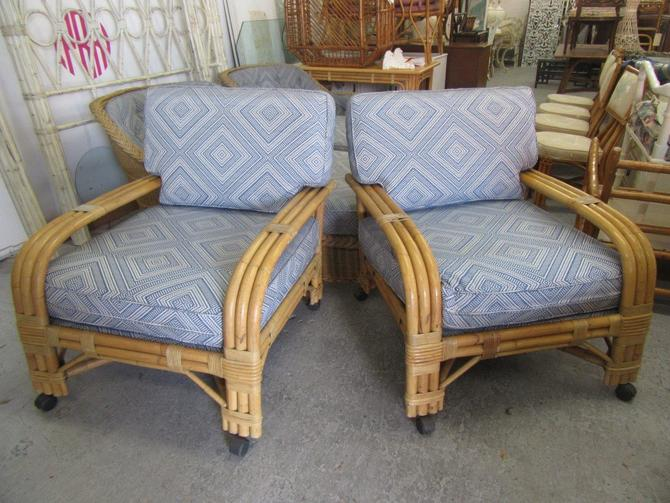 Extra Large Rattan Lounge Chairs