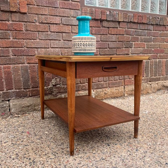 Refinished Mid-Century Side Table by Lane