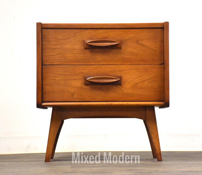 Cherry Nightstand by United Furniture by mixedmodern1