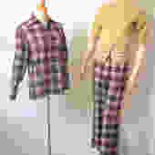 Vintage 70s Pant set M / Pendleton/ Knockabout/ Wool / Preppy Pants/ Unisex/ Brady Bunch 38 Bust 28 Waist by GraveyardVintage