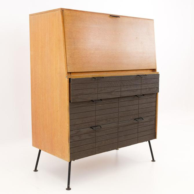 Raymond Loewy for Mengel Iron and Wood Desk Bar - Mid Century Modern - mcm by ModernHill
