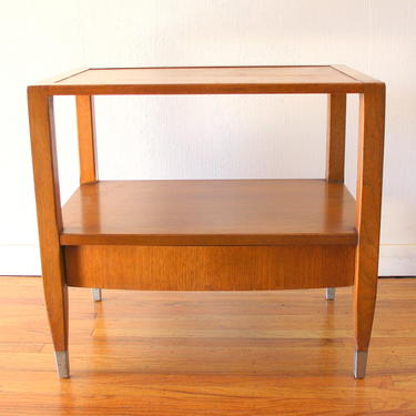 Mid Century Modern Side End Table Nightstands