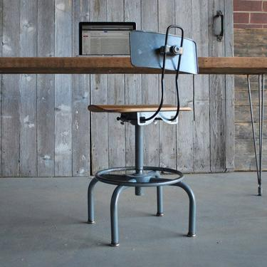 """Vintage modern desk with mid century Hairpin legs with 1 drawer included, 48"""" l x 26"""" w x 30"""" h, 1.65"""" top by UrbanWoodGoods"""