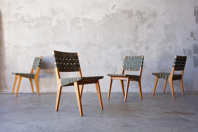 Jens Risom '666' Chairs. by FandFVintage