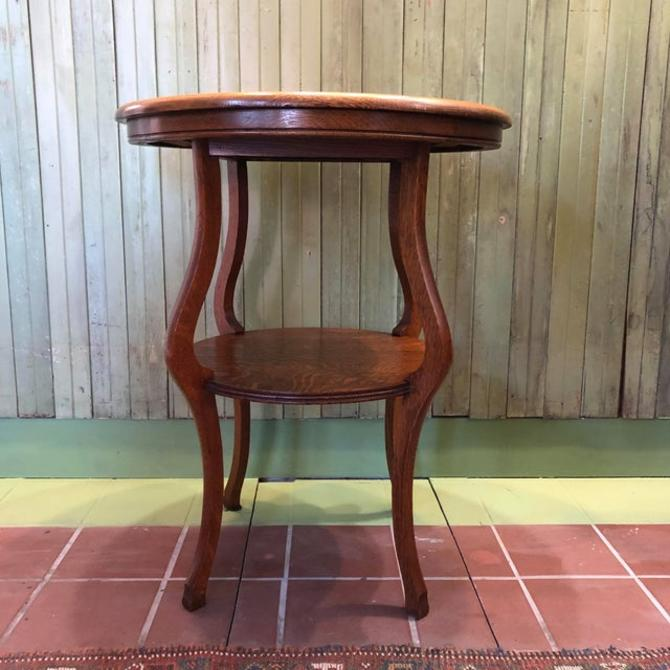 Two Tiered Accent Table